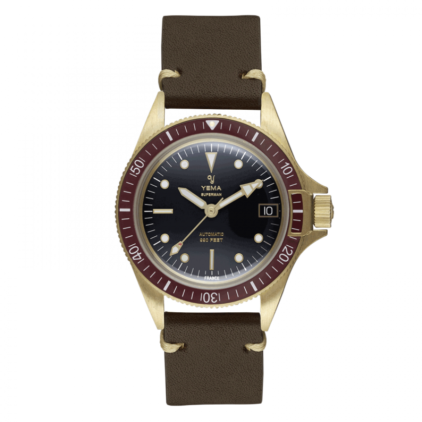 Yema Yema SUPERMAN BRONZE BORDEAUX 41MM