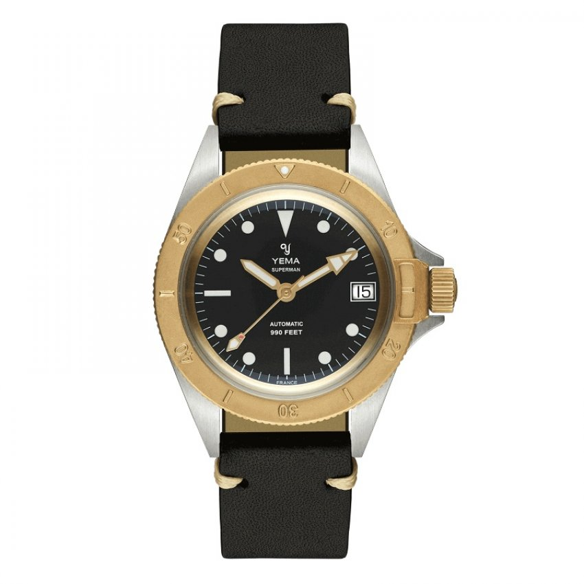 Yema Yema Superman Ocel/bronz 41mm