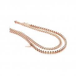 Zulu Necklace Rose Gold