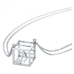 Allegro necklace Silver