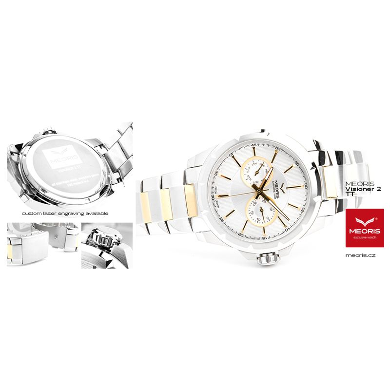 Klasické a společenské hodinky Meoris Visioner 2 TT - Onyx e5b09c5c8c