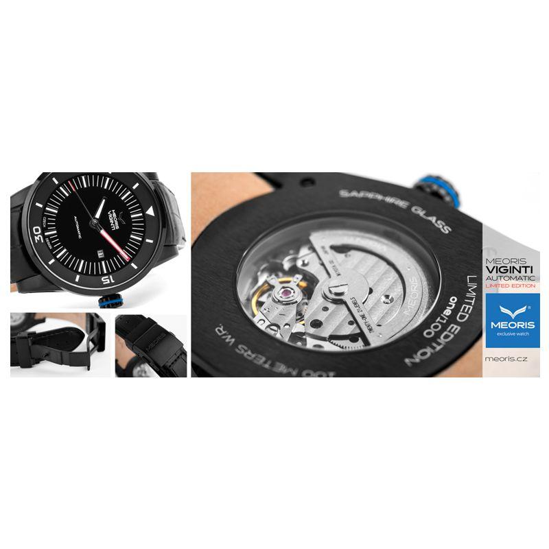 Sportovní hodinky Meoris Viginti BL Automatic limited Edition - Onyx d5a3229054
